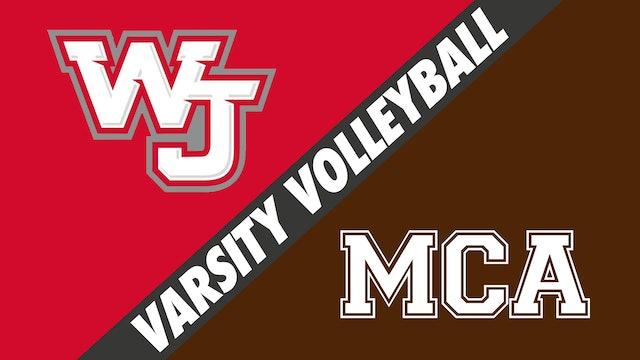 Varsity Volleyball: West Jefferson vs Mount Carmel