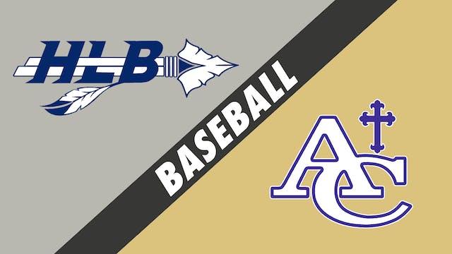 Baseball: H.L. Bourgeois vs Ascension...
