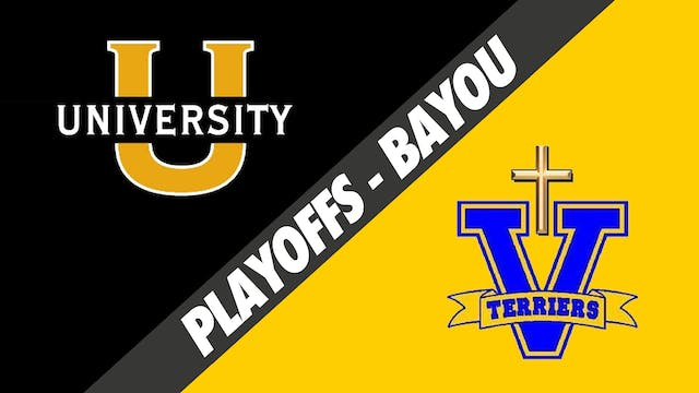Div II 2nd Round Playoffs: U High vs ...