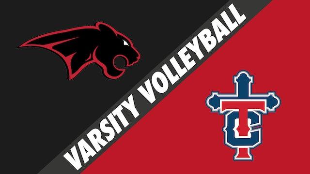 Varsity Volleyball: Catholic, New Iberia vs Teurlings Catholic - Part 2