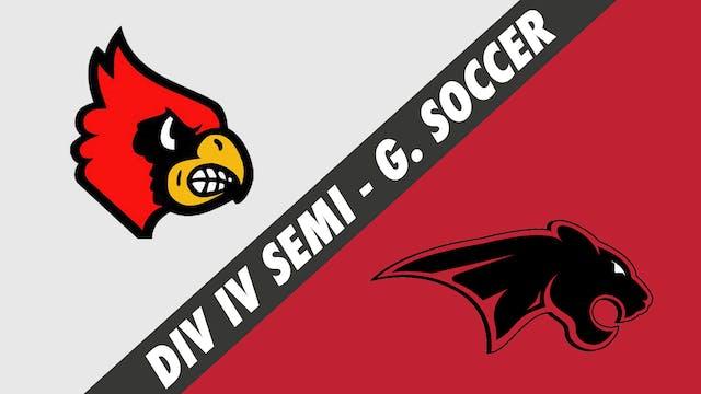 Div IV Semifinals Girls Soccer: Sacre...