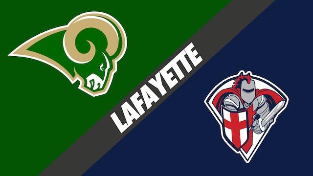 Lafayette: Acadiana vs Lafayette Chri...