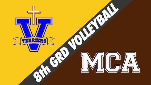 8th Grade Volleyball: Vandebilt vs Mount Carmel
