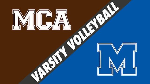 Varsity Volleyball: Mount Carmel vs Mandeville