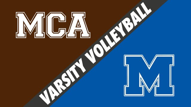 Varsity Volleyball: Mount Carmel vs M...