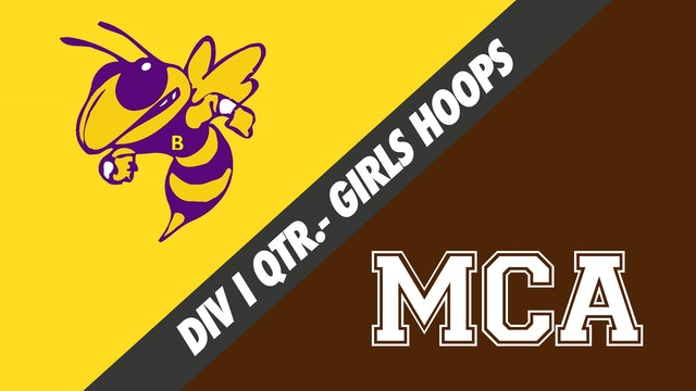 Girls Basketball Div I Quarterfinals: Byrd vs Mount Carmel