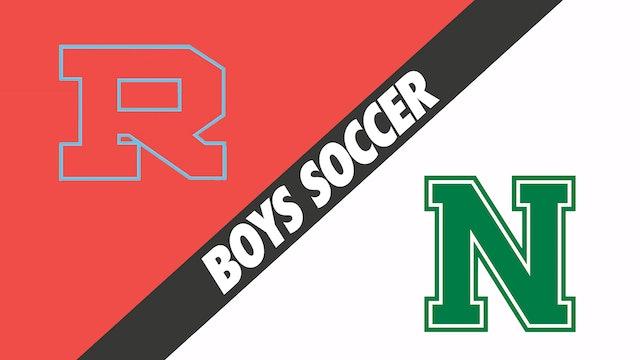 Boys Soccer: Rummel vs Newman