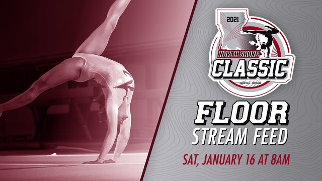 The North Shore Gymnastics Classic: Floor