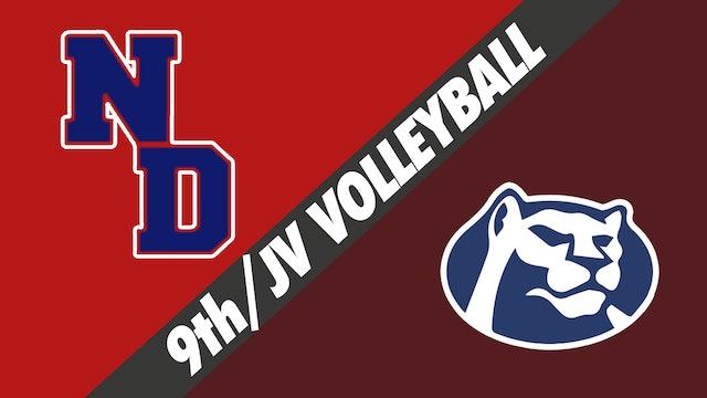 Freshman & JV Volleyball: Notre Dame vs St. Thomas More