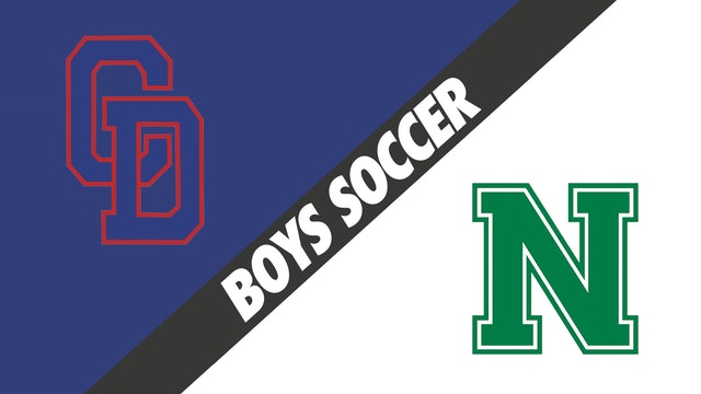 Boys Soccer: Country Day vs Newman
