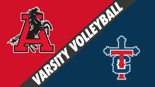 Varsity Volleyball: Assumption vs Teurlings Catholic - Part 2