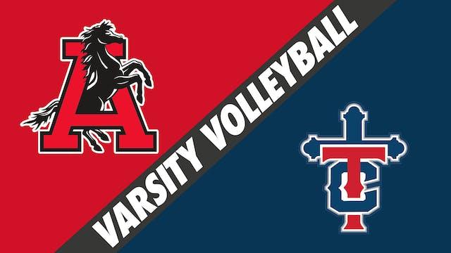 Varsity Volleyball: Assumption vs Teu...