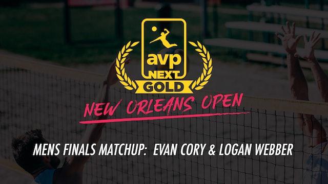 AVPNext Gold Mens Finals: Evan Cory & Logan Webber Win