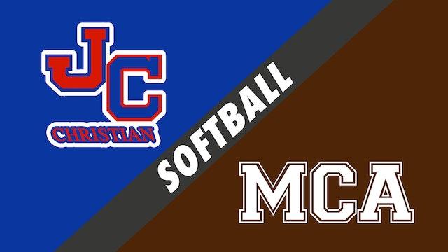 Softball: John Curtis vs Mount Carmel