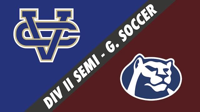 Div II Semifinals- Girls Soccer: Vandebilt Catholic vs St. Thomas More