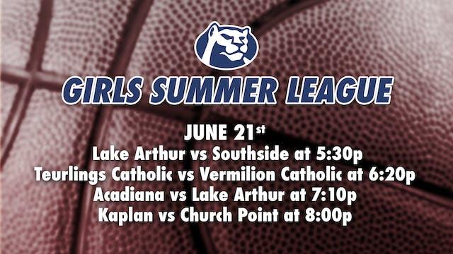 STM Girls Summer League: June 21st