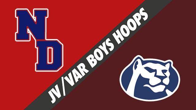 JV & Varsity Boys Basketball: Notre D...