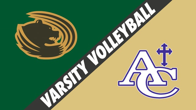 Varsity Volleyball: Highland Baptist vs Ascension Catholic