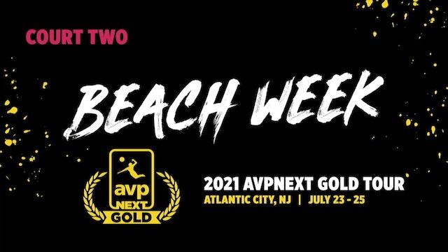 AVPNext Gold Tournament: Court Two- Sunday Morning