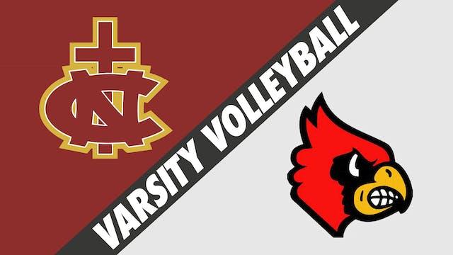 Varsity Volleyball: Northlake Christi...