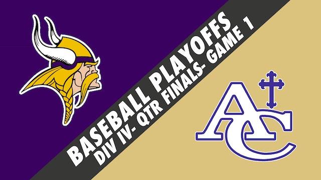 Baseball Playoffs- Game 1: Opelousas Catholic vs Ascension Catholic