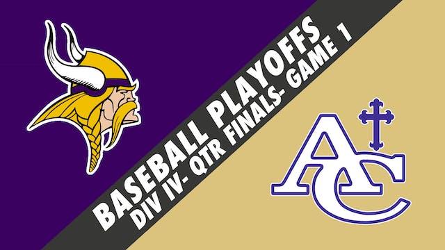 Baseball Playoffs- Game 1: Opelousas ...
