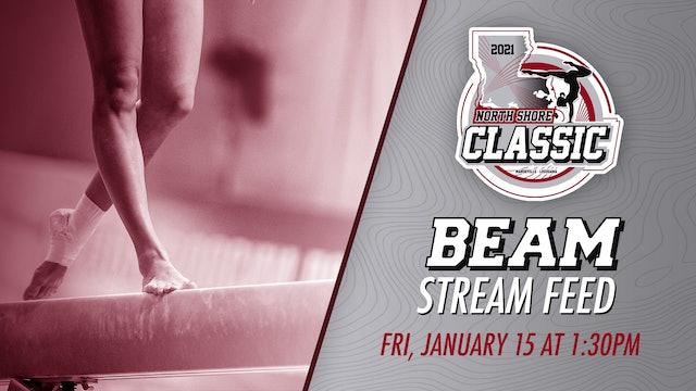 The North Shore Gymnastics Classic: Beam