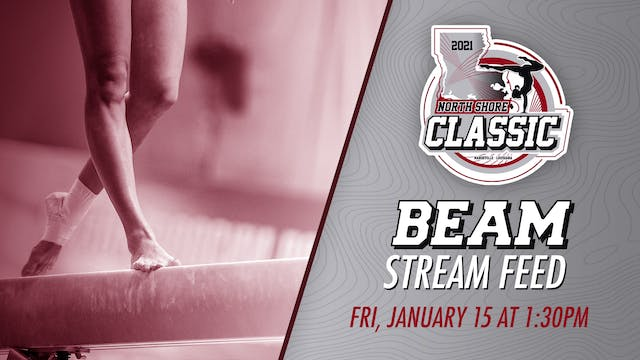 The North Shore Gymnastics Classic: Beam