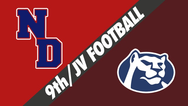 Freshman & JV Football: Notre Dame vs St. Thomas More