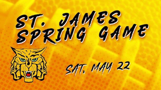 St. James Spring Football Game