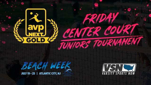 AVPNext Gold Tournament: Friday Center Court- Juniors Tournament