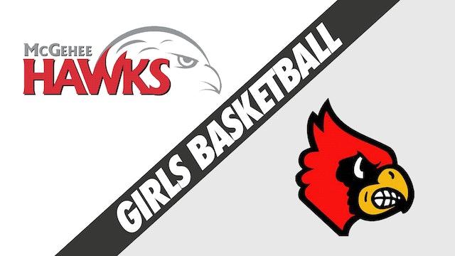 Girls Basketball: McGehee vs Sacred Heart