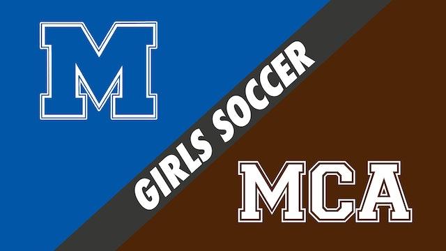 Girls Soccer: Mandeville vs Mount Carmel