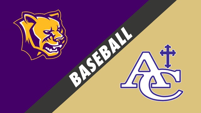 Baseball: Karr vs Ascension Catholic - Part 2