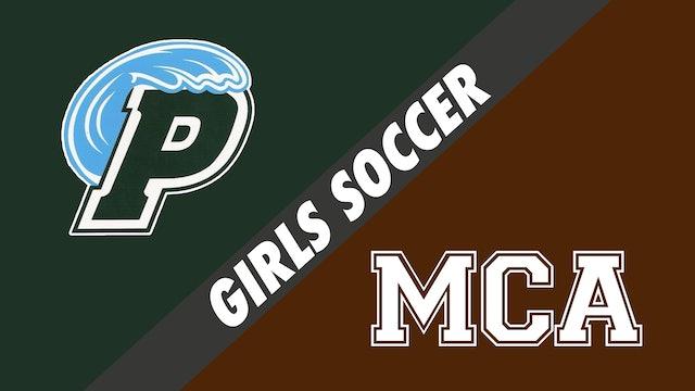 Girls Soccer: Ponchatoula vs Mount Carmel