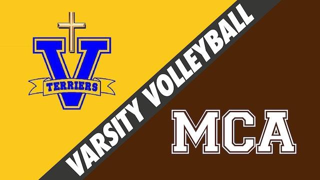 Varsity Volleyball: Vandebilt vs Mount Carmel