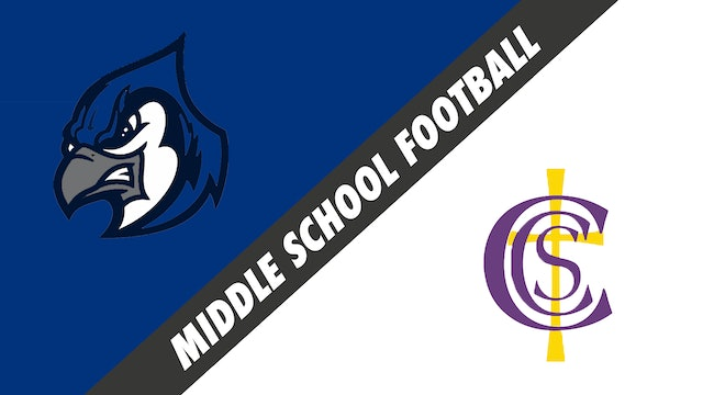 Middle School Football: Cecillia Middle School vs Cathedral Carmel