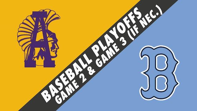 Baseball Playoffs- Game 2: Alexandria vs Barbe