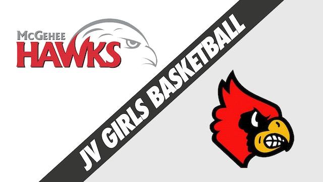 JV Girls Basketball: McGehee vs Sacred Heart