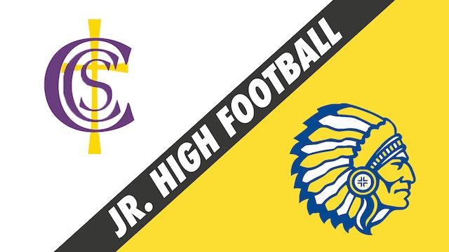 Jr. High Football: Catholic Carmel vs Our Lady of Fatima