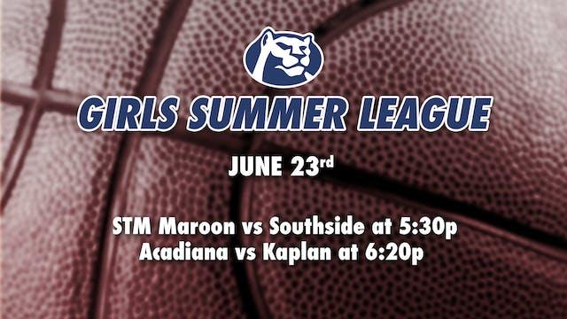STM Girls Summer League: June 23rd