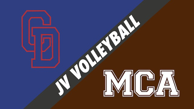 JV Volleyball: Country Day vs Mount Carmel