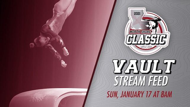 The North Shore Gymnastics Classic: Vault