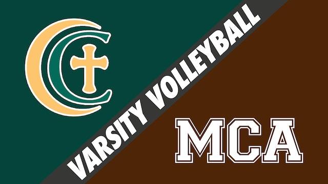 Varsity Volleyball: Cabrini vs Mt. Carmel