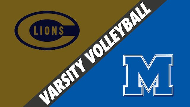 Varsity Volleyball: Covington vs Mand...
