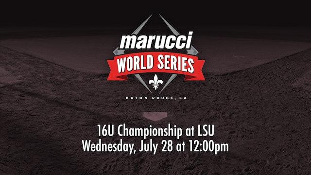 Marucci World Series: 16U Championship