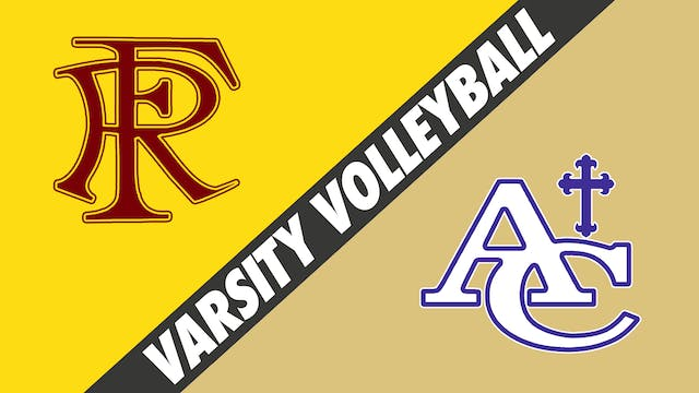 Varsity Volleyball: False River vs As...