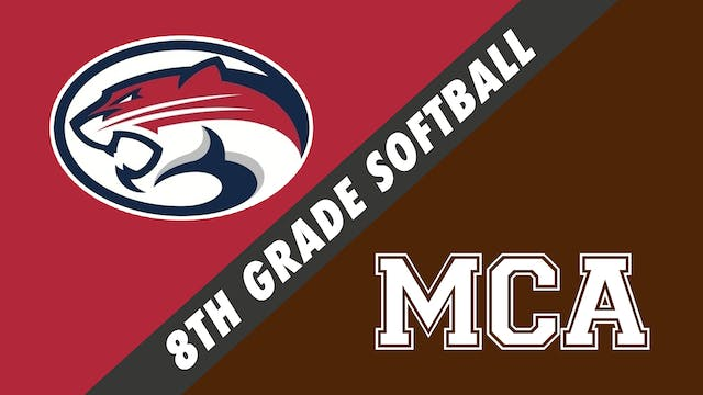 8th Grade Softball: J.B. Martin vs Mo...