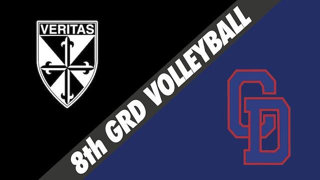 8th Grade Volleyball: Dominican vs Co...