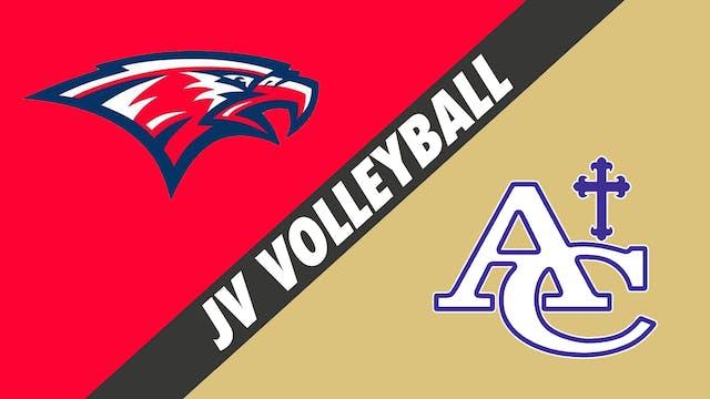 JV Volleyball: Central Catholic vs As...